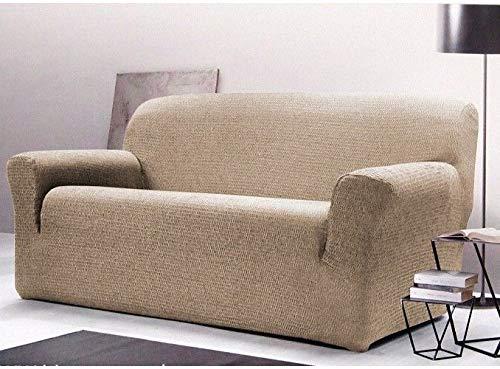 Copridivano Gabel Poncho Roma Duo Avana - Copridivano 2 posti (divano da 110 a 180 cm) - divGabel23