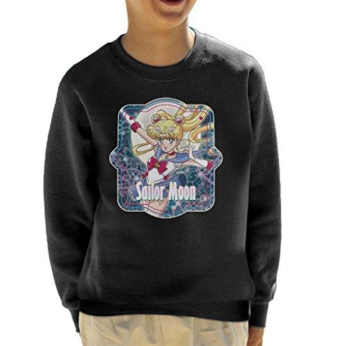 Sailor Moon Moonlight Frame Kid's Sweatshirt (Sport-programm Frames)