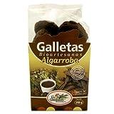 GALLETAS BIOARTESANAS ALGARROBA 250 gr