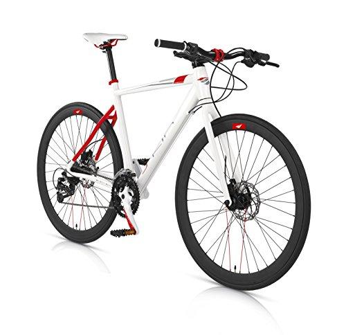 Bicicleta Híbrida MBM Skin aluminio freno disco hidráulico
