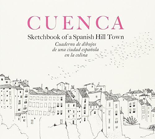 Cuaderno de dibujos de una ciudad española en la colina por Fernando Zóbel