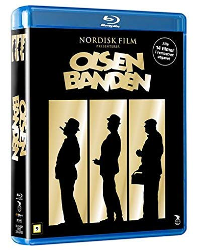 Olsenbande 14 DVD Collection / The Olsen Gang Collection - 7-Disc Box Set ( Olsenbanden Operasjon Egon / Olsenbanden og Dynamitt-Harry / Olsenbanden tar gull / [ Norwegische Import ] (Blu-Ray)