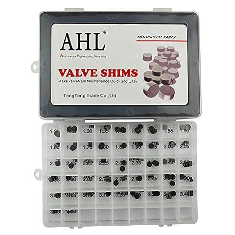 AHL 7.48mm Motorrad Ventil Shim Set 3x47pcs Einstellplättchen Ventilspiel Kit für Honda GL1800HPN Gold Wing Audio/Comfort/Navi 2006-2010