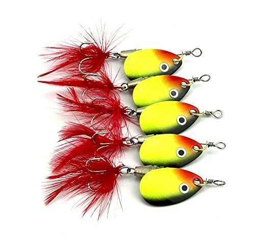 LENPABY 8 pcs Deep Diving Minnow Fishing Lures Crankbaits Kit for Bass and Trout Fishing Tackle 9cm//3.54//8.3g