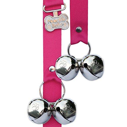Artikelbild: Poochiebells, Hot Pink, Le Poochie-Bells est une sonnette qui aide le chien à devenir propre, la formation de pot de chien, 95% Taux de réussite. Pas plus d'accidents de la porte.