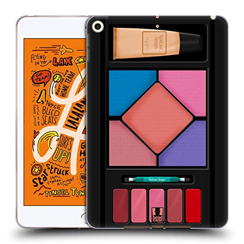 Head Case Designs Casual Makeup Set Soft Gel Huelle kompatibel mit iPad Mini (2019) -