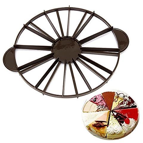 Slice Pie g‰teau 10/12 Piece Equal Portion Marker Divider