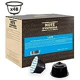 Note D'Espresso Latte, Capsule compatibili con macchine Dolce Gusto, 13 g x 48