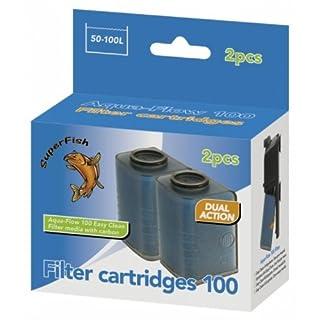 Superfish Aqua Flow 100 Easy Click Cartridge x 2