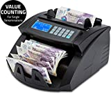 ZZap NC20i Banknote Counter & Counterfeit Detector - Counts 1000 banknotes per Minute, Batch Counting, 5-fold Counterfeit Detection and More!