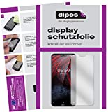 dipos I 2X Schutzfolie klar passend für Nokia 6.1 Plus Folie Bildschirmschutzfolie