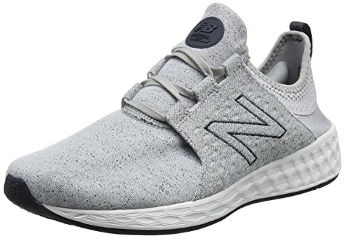 Argento 42.5 EU New Balance Fresh Foam Cruz Hoody Pack Scarpe Running 53t