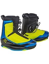 Ronix One - Botas de wakeboard para hombre, color amarillo, talla 45