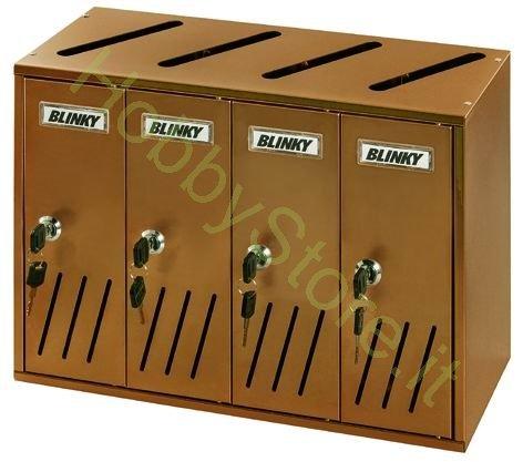Blinky 2735804 ramato casellari postali, 42x17.5x30
