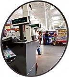 Kontrollspiegel - (Spiegel aus Acrylglas) rund 500 mm - Ideal für unübersichtliche Ecken und Räume