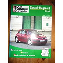 RRTA0668.1 REVUE TECHNIQUE AUTOMOBILE RENAULT MEGANE II Diesel 1.5l dCi et 1.9l