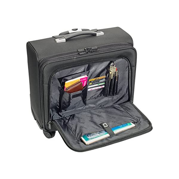 0514ba6369 PEDEA GmbH 66066250 Borsa per Notebook, Nero – TravelKit