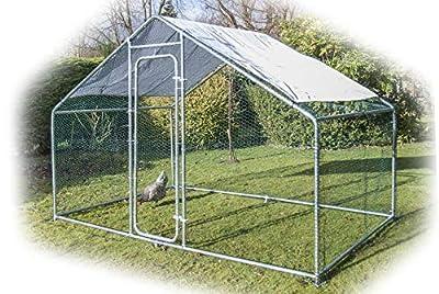 Speedwellstar Walk In Chicken Dog Pen Run Cage Coop House Kennel Large Metal 3x2m FREE Shade from SpeedwellStar