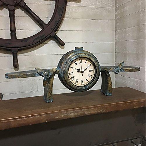 industrielles-wandregal-wand-dekoration-loft-retro-tun-die-alte-wand-taktgeber-eisen-uhr-wand-hangen