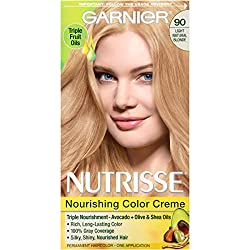 Garnier Nutrisse Hair Color, 90 Light Natural Blonde Macadamia