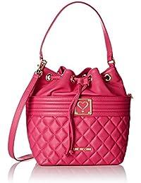 Love Moschino - Moschino, Shoppers y bolsos de hombro Mujer, Pink (Fuchsia), 13x28x24 cm (B x H T)