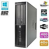 Processeur : De marque AMD Fréquence 3GHz - 2 coeurs - Socket AM2+ / AM3Mémoire Vive : 4 Go - DDR3Disque dur : 480 Go SSDLecteur optique : Graveur DVDContrôleur graphique : ATI Radeon HD 4200 Réseau : Broadcom NetXtreme Gigabit Ethernet Link 10/10...