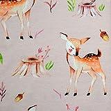 MAGAM-Stoffe Bambi Jersey Kinder Stoff Oeko-Tex Meterware