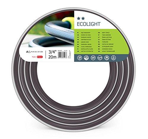 Cellfast Gartenschlauch Ecolight series Elastisch und flexibel 3-lagiger Wasserschlauch aus Polyesterkreuzgewebe, druck- und UV-beständig 20 bar Berstdruck, 20m, 3/4 zoll, 10-170