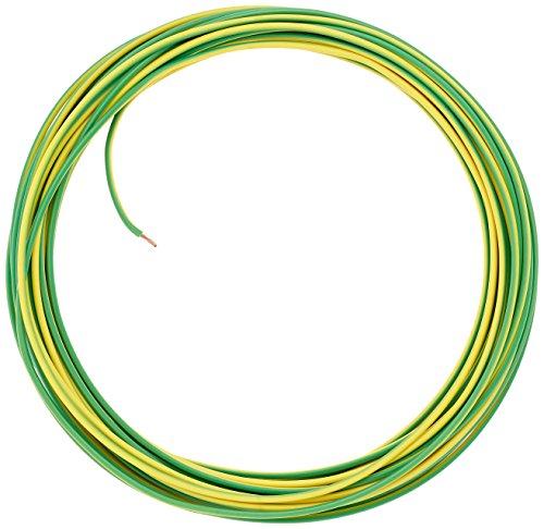 Preisvergleich Produktbild as - Schwabe Aderleitung H05V-K 0, 75,  10 Meter,  gelb / grün 57544
