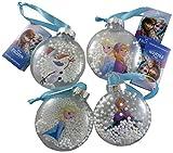 Festive Frozen Smartie bola (elección de 4)-decoraciones colgantes