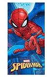 Marvel Spider-Man Handtuch Strandtuch für Kinder Verschiedene Designs 70 x 140 cm, 100% Baumwolle...