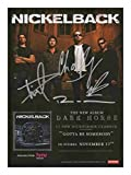Nickelback Signiert Autogramme 21cm x 29.7cm Plakat Foto