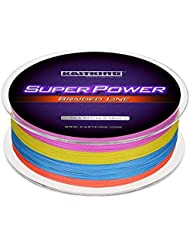 KastKing SuperPower Sedales Trenzados Línea 10LB-150LB, 0.08mm-0.80mm, Dyneema trenzado PE - 300M / 500M / 1000M (Color, 1000M 150LB 0.8mm (8 Strands))