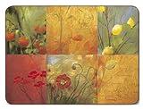 Jason Tischsets - Citrus Garden - 4er Satz