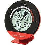 Schimmel-Radar TFA 30.5032 Thermo-Hygrometer (Rot)