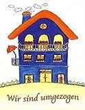 SÜ-Verlag 8240001 Karte Umzugsanzeige 10er Beutel Haus Wir sind umgezogen Liefermenge= 1
