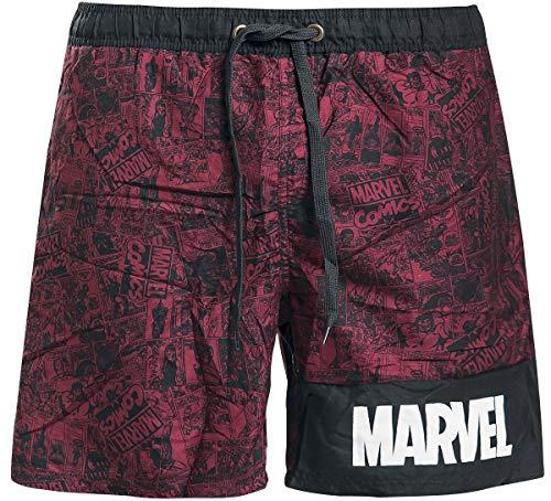 Bañador chico Marvel red - S