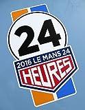 LE MANS 24 STUNDEN 2016 Paar von '24' streifen Stil sticker aufkleber 200mm hoch