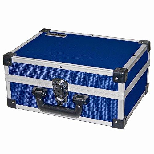 Alu Werkzeugkoffer blau 330 x 230 x 150 mm