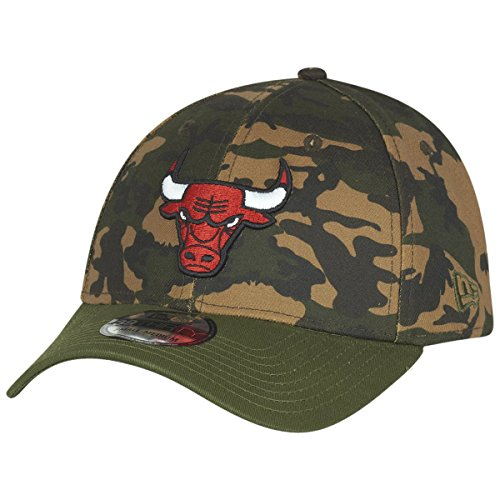 New Era 39Thirty Cap - WOOD CAMO Chicago Bulls Camo