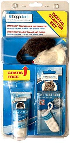 Bogadent UBO0817 Dental Pflege Set Katze (Mandel-finger)