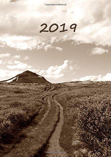 Kalender 2019 - Der Weg: DIN A5, 1 Woche auf 2 Seiten