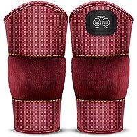 JFJL Massierende Beheizte Knieorthese,3 Ebene Wärme Und Massage,Heizkissenwickel Mit 2 Vibrationsmotoren Für Knieverletzung... preisvergleich bei billige-tabletten.eu