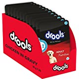 Drools Adult Dog Food, Real Chicken And Liver In Gravy, 80g (Pack Of 24)