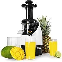 Duronic JE2 Estrattore a freddo di frutta e verdura slow juicer estrattore di succo a freddo 220W – 80 giri/minuto