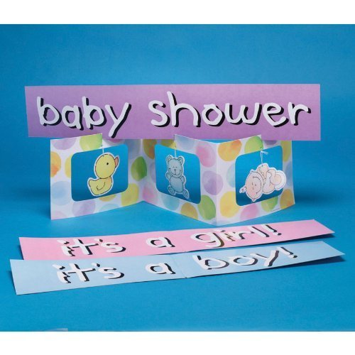 Factory Card and Party Outlet Baby Me 23 3/4in Centerpiece by (And Factory Card Outlet Party)