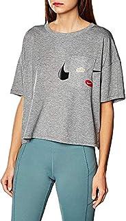 Nike Women's Small Sleeve Gx Icnclsh Wow T-S