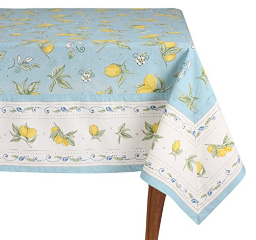 Mahagoni Rechteck Tischdecke, - Tischdecke Blau Rechteck