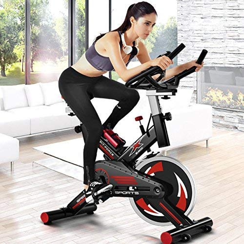 Fit-Force Bici Spinning X24KG con Volante de