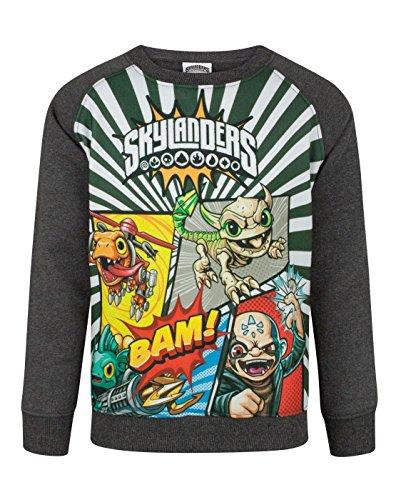Skylanders Panels Boy's Sweatshirt (5-6 Years)